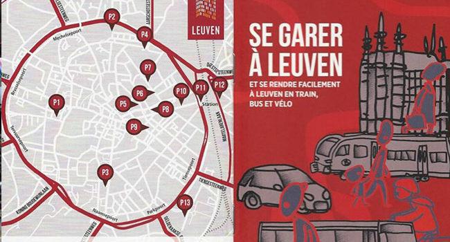 Leuven fait sa promotion dans un dépliant, Cedric du Monceau se dit surpris